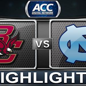 Boston College vs North Carolina | 2013 ACC Football Highlights