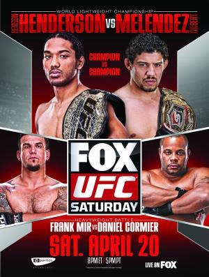 UFC on Fox 7 Fighter Salaries: Benson Henderson, Frank Mir, and Gilbert Melendez Top Payroll