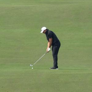Scott Stallings' brilliant approach sets up eagle putt at The RSM Classic