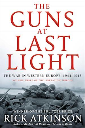 "This book cover image released by Henry Holt shows ""The Guns at Last Light,"" by Rick Atkinson. (AP Photo/Henry Holt)"