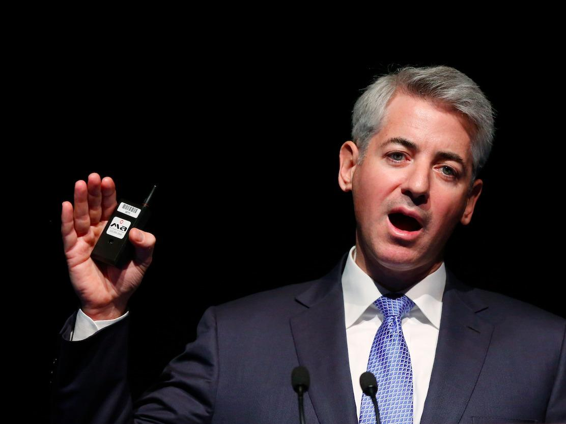 Billionaire Bill Ackman wrote an op-ed in support of Bloomberg for president because 'America is burning'