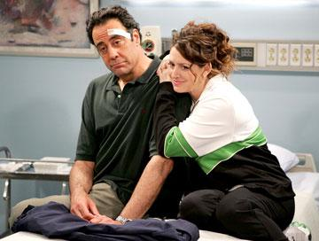 "Joely Fisher and Brad Garrett FOX's ""'Til Death"" 'Til Death"
