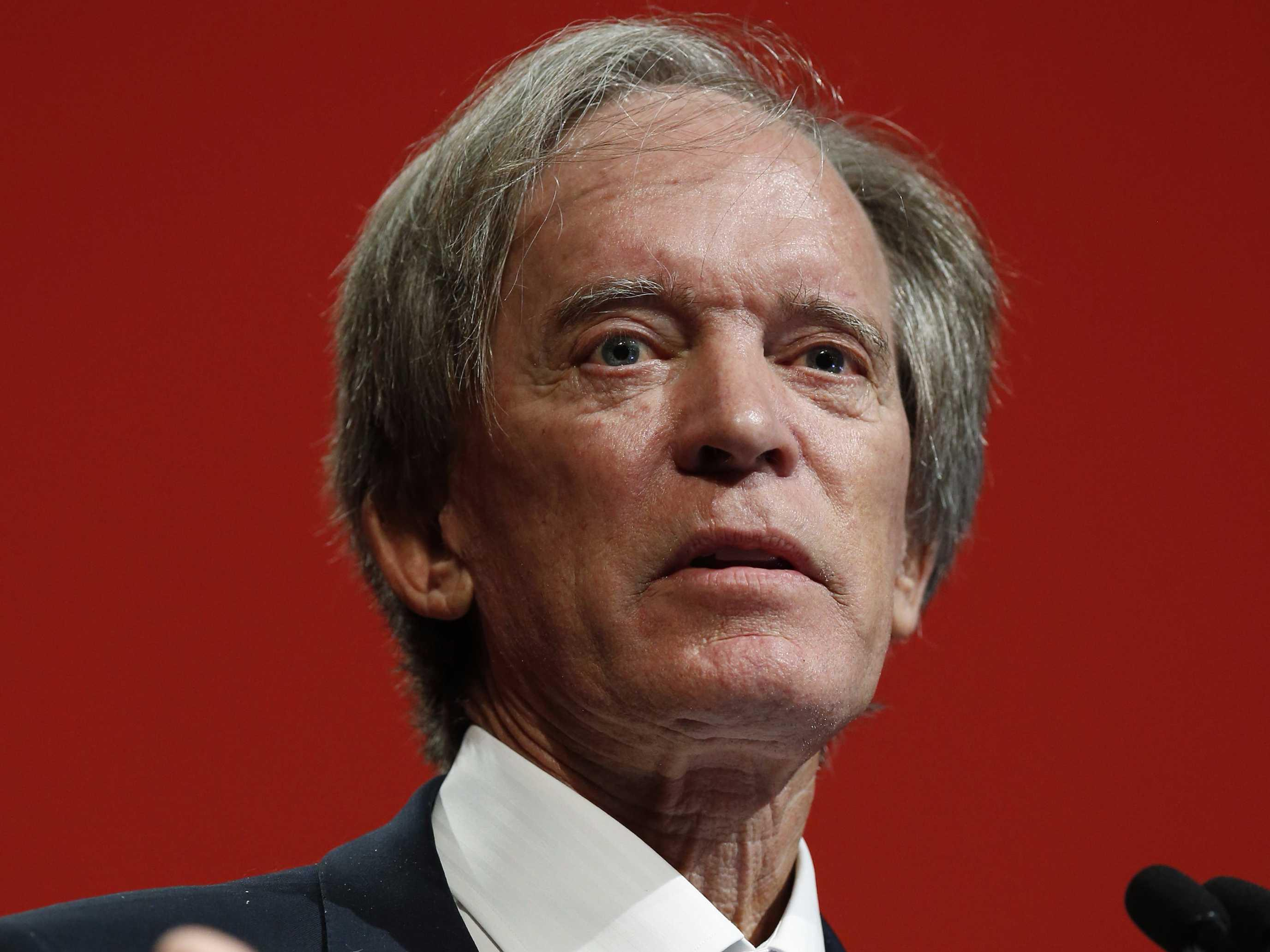 BILL GROSS: My 'short of a lifetime' was 'well timed but not necessarily well executed'