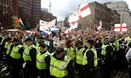 Tommy Robinson: EDL Leader Held At March