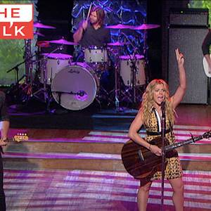 "The Talk - The Band Perry Performs ""I'm A Keeper"""