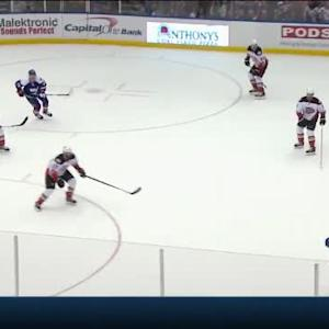 Frederik Andersen Save on Thomas Hickey (15:55/3rd)