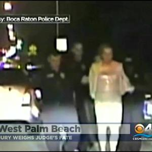 Jury Sent Home For Night In Broward Judge DUI Trial