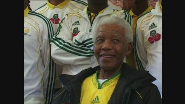 Nelson Mandela's sporting highlights
