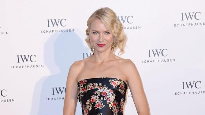 """DISTRIBUTED FOR IWC - Actress Naomi Watts attends the exclusive """"For The Love Of Cinema"""" event hosted by Swiss luxury watch manufacturer IWC Schaffhausen at the Hotel du Cap-Eden-Rocin in Antibe, France, on Sunday, May 19, 2013.  (Samir Hussein for IWC/Photopress via AP Images)"""