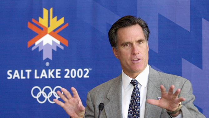 Romney cites Olympics success, rivals are leery