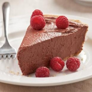 15-Minute No-Bake Chocolate Pie