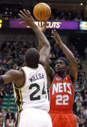 Jefferson helps Jazz spoil D-Will's return 107-94