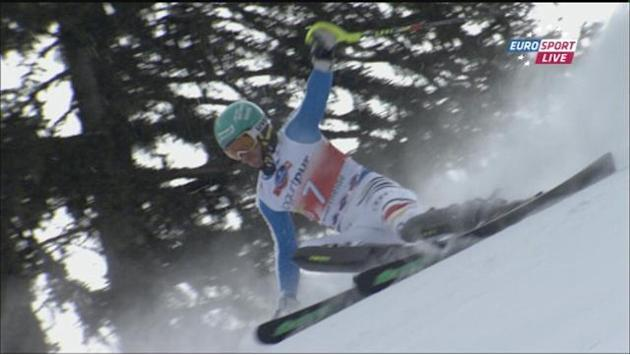 Alpine Skiing - Neureuther wins Lenzerheide slalom