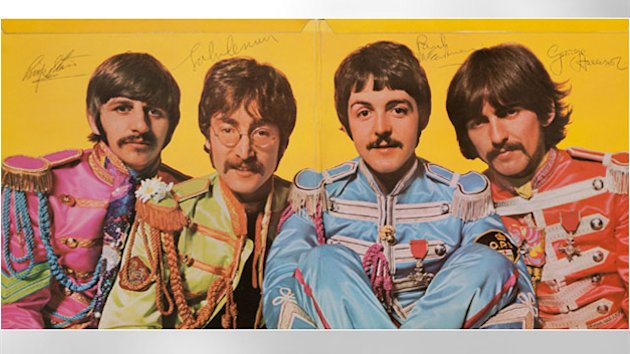 Signed Iconic Beatles Album Auctioned for $290,500 (ABC News)