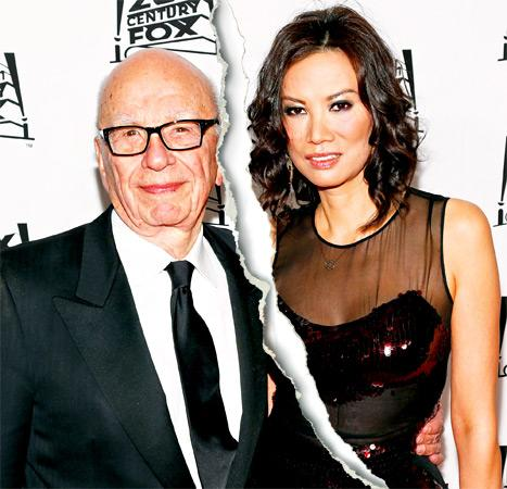 Rupert Murdoch Files for Divorce From Wife Wendi Deng