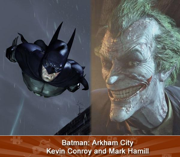 Batman: Arkham City -- Kevin Conroy and Mark Hamill