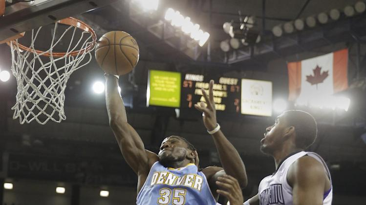 Lawson scores 27 as Nuggets beat Kings 125-117