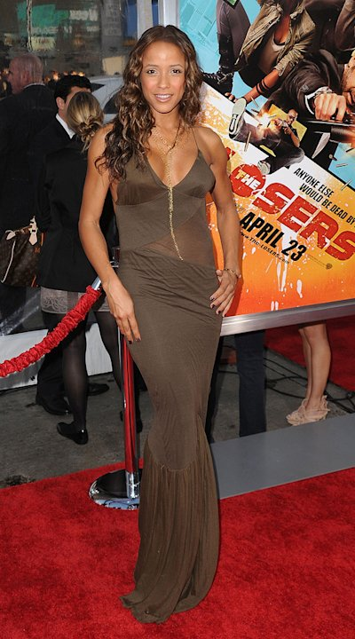 The Losers LA Premiere 2010 Dania Ramirez