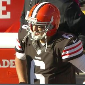 NFL NOW: Is time running out for Brian Hoyer?