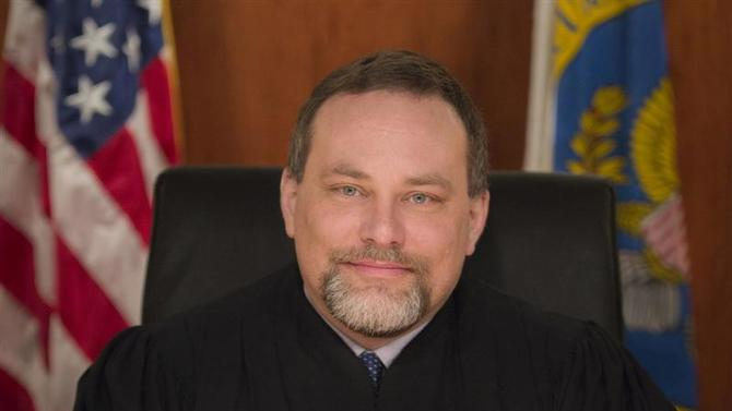 Handout photo of Securities and Exchange Commission Administrative Law Judge Cameron Elliot