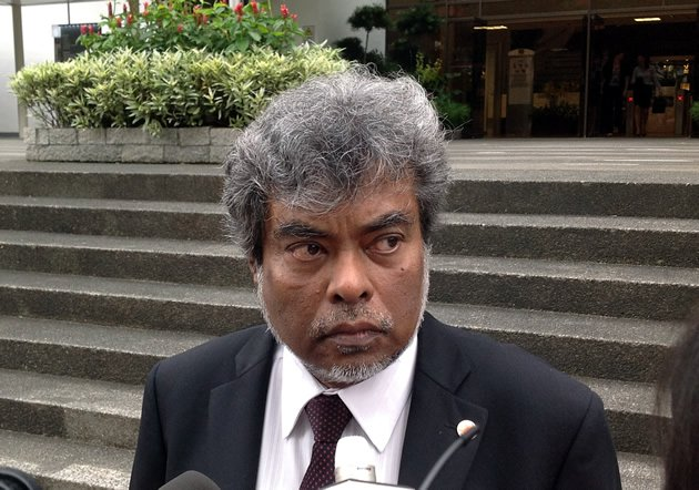 Singapore News Alternative: Defence counsel SUBHAS ANANDAN objects.