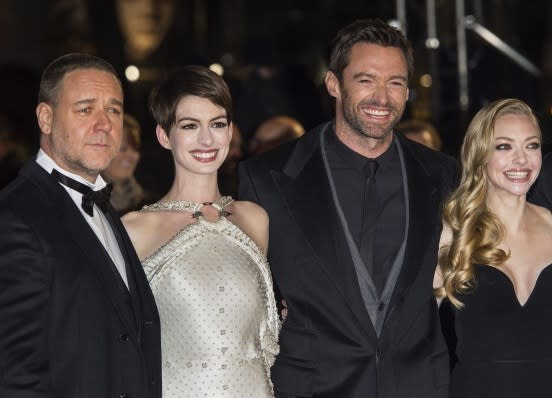 Jackman, Hathaway & Co-Stars Are Masters Of The House At 'Les Misérables' Premiere