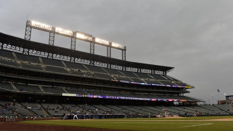 MLB: New York Mets at Colorado Rockies-Game One