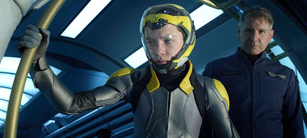 'Ender's Game,' the movie, not the book.