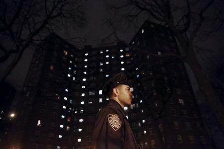 Two New York police officers recovering after stairwell shooting