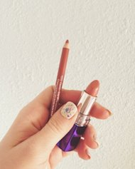 Rimmel London dupes for MAC Spice lipliner and MAC Blankety lipstick.