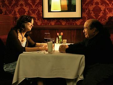 Parker Posey and Danny DeVito in Cyan Pictures' The Oh in Ohio