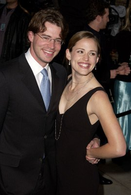 Scott Foley and Jennifer Garner Vanity Fair Party Hollywood, CA 3/24/2002
