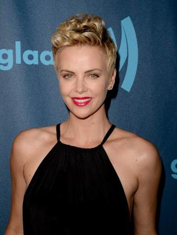 Charlize Theron attends the 24th Annual GLAAD Media Awards presented by Ketel One and Wells Fargo at JW Marriott Los Angeles at L.A. LIVE on April 20, 2013 in Los Angeles -- Getty Images