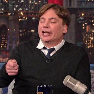 Mike Myers Tells Stories About His Son, Spike - David Letterman