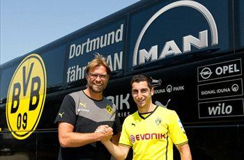 Mkhitaryan: Dortmund deal made me the happiest man in Europe