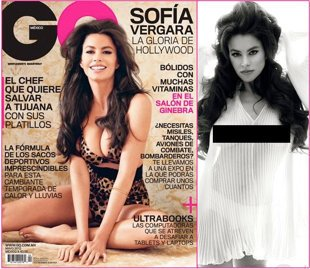 Sof&#xed;a Vergara / Portada de la revista GQ