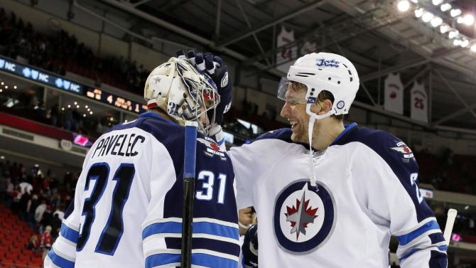 NHL: Winnipeg Jets at Carolina Hurricanes