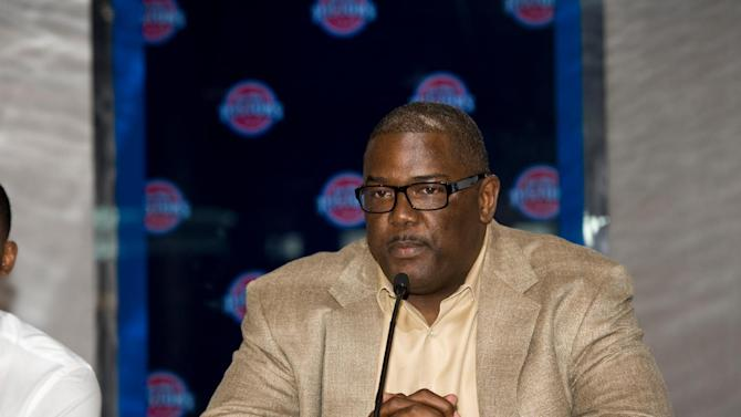 AP source: Dumars out as Detroit's team president