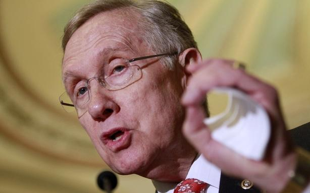 Harry Reid Says He Knows What's in Romney's Taxes