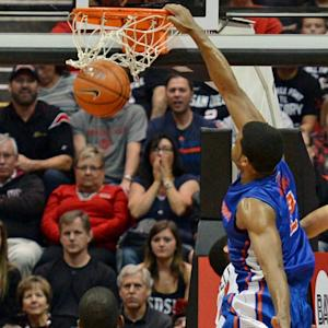 Boise State's Derrick Marks Slams San Diego State