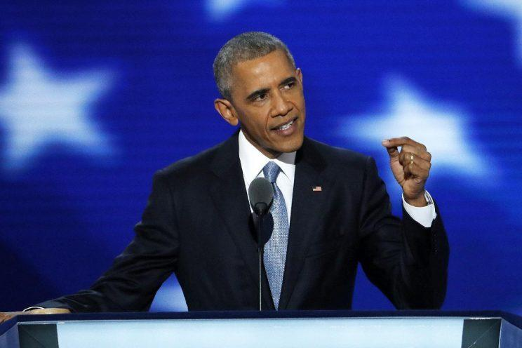 Obama: 'America is already great,' vote Hillary