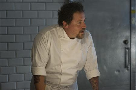 "Jon Favreau as Carl Casper in the movie ""Chef"", is pictured in this undated handout photo"