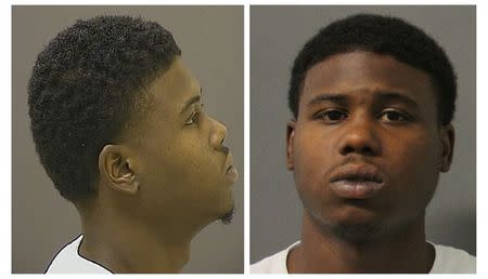 Images of Raymon Carter appear on a wanted poster released by the Bureau of Alcohol, Tobacco, Firearms and Explosives in Baltimore