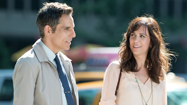 Ben Stiller and Kristen Wiig in 'The Secret Life of Walter Mitty'