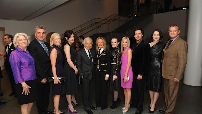 Ralph Lauren & Graydon Carter Host An Evening With The Cast And Producers Of PBS Masterpiece Series Downton Abbey