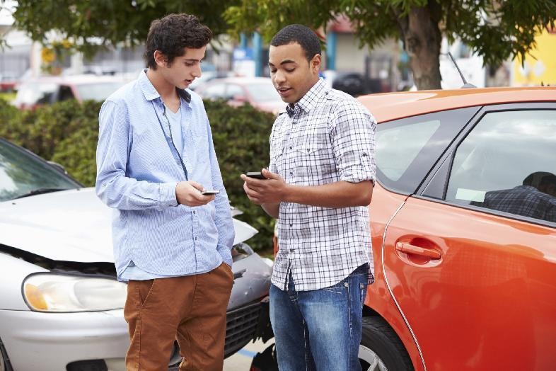 Over half of teen driver crashes due to distraction