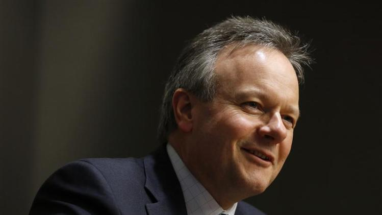 Bank of Canada Governor Poloz speaks during an interview with Reuters in Ottawa