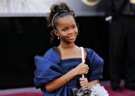Quenzhane Wallis, best actress nominee for her role in &quot;Beasts of the Southern Wild&quot;, arrives at the 85th Academy Awards in Hollywood, California February 24, 2013. REUTERS/Lucas Jackson