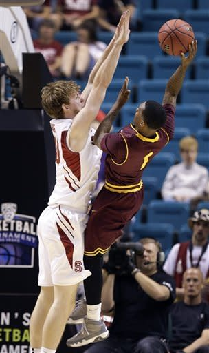 Arizona State beats Stanford 89-88 in overtime