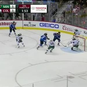 Devan Dubnyk Save on Jarome Iginla (03:25/2nd)